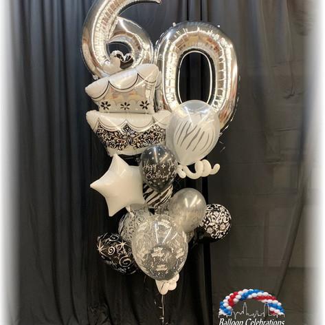 Silver Sixty cake
