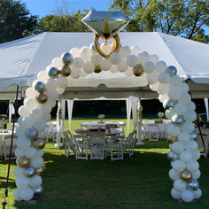Bridal Shower Arch