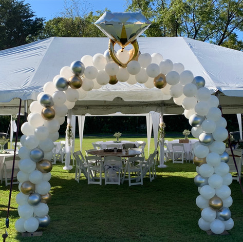 Bridal Shower Arch