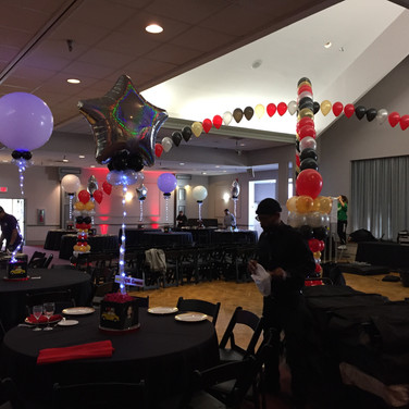 Balloon Centerpieces