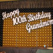 Birthday Balloon Wall