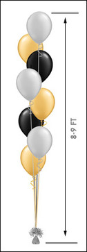 811 Balloon Centerpiece $18.50
