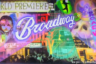 Broadway Backdrop