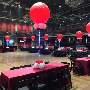 Big Balloon Centerpieces