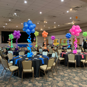 Topiary Balloon Centerpiece
