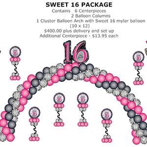 Sweet 16 package