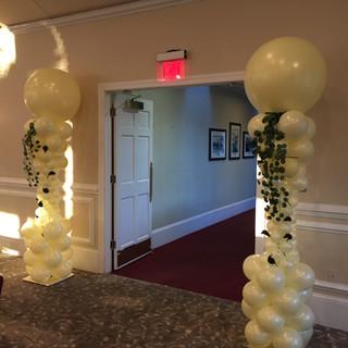 Wedding Columns.