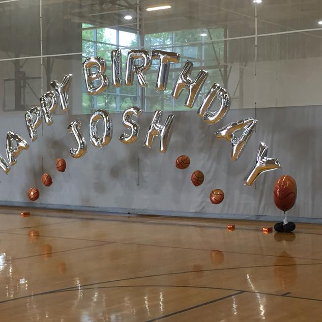 Josh's Balloon Arch