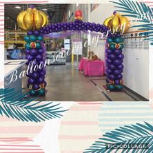 Aladdin Themed Balloon ColumnsIMG_9047.JPG