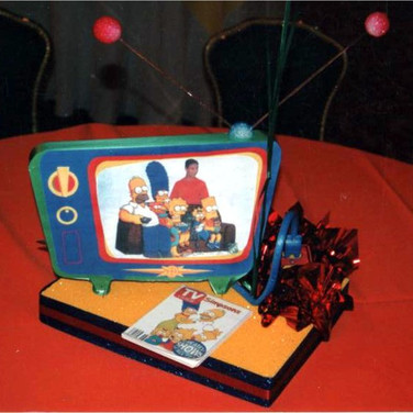 Television Themed Centerpiece