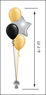 311M  Balloon Centerpiece $11.95