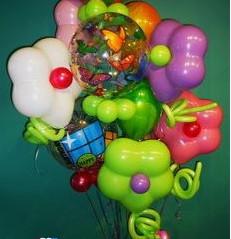 Flower Power Balloon Bouquet