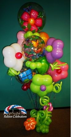 Flower Power Balloon Bouquet