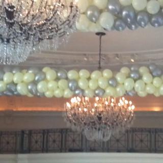 Wedding Balloon drop.