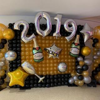 Photo Balloon Wall.