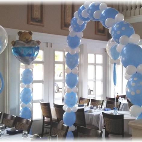 Its a Boy Balloon Column
