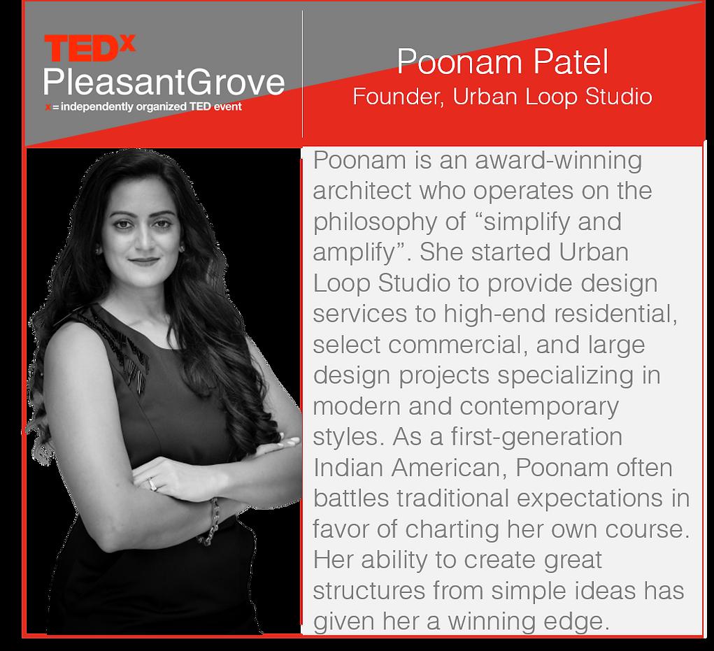 Poonam-Patel-TEDxPleasantGrove-Speaker-A