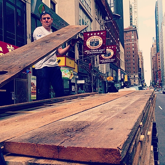 Beautiful new shipment of reclaimed timber from our friends at @reclaimedamerica JC Wood