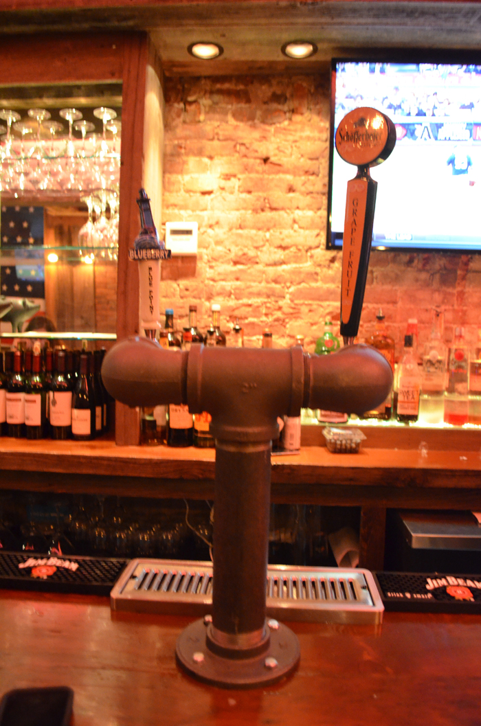 Old Pipe Beer Tap
