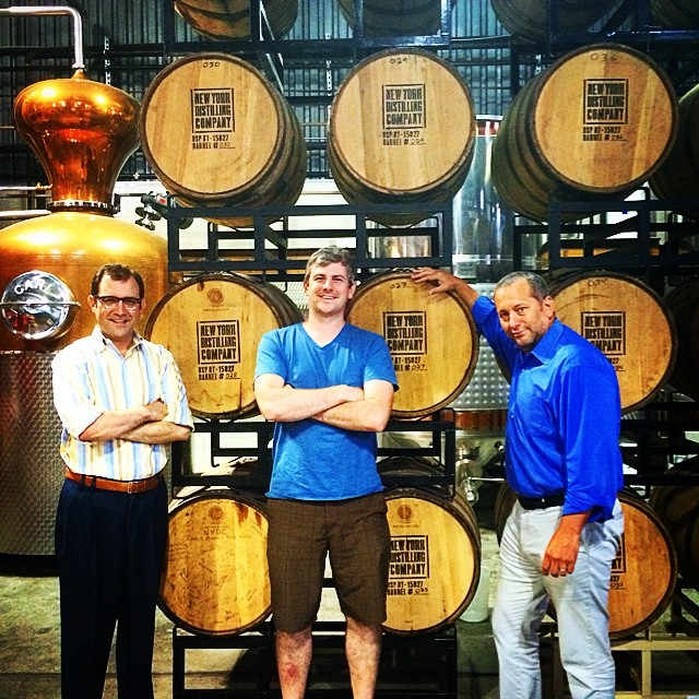 Instagram - Good day at the New York Distilling Company! Allen Katz, the co-founder of the distiller