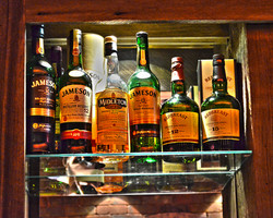 Whiskey Selection of Jameson