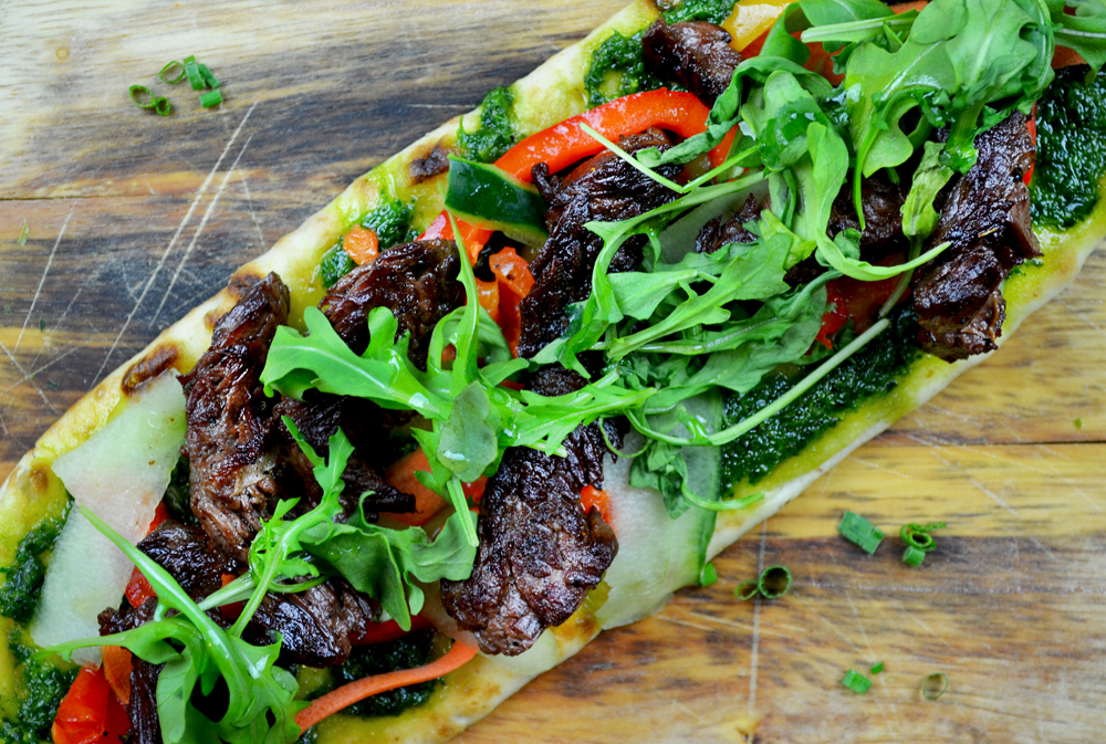 Steak Flatbread