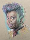 Pencil Portrait - Ms Adiche
