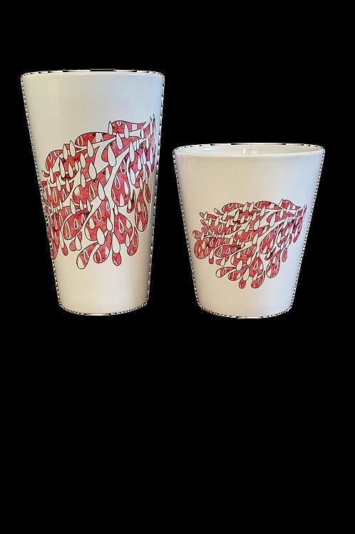 Abbi MacCaffrey Latte Style Mugs