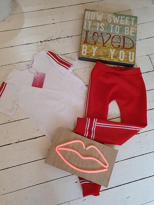 Sport Harem Pant & T-Shirt Combo - 6/7 YRS