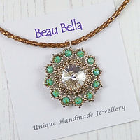 green and crystal flower necklace 2.jpg