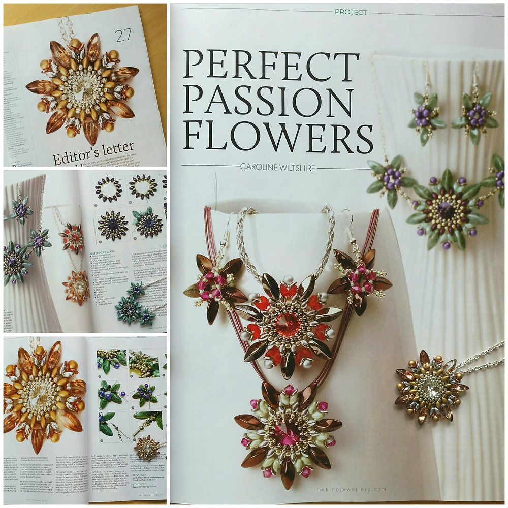 Making Jewellery Perfect Passion Flowers Tutorial