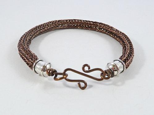 Viking Knit Woven Bracelet - Made to Order