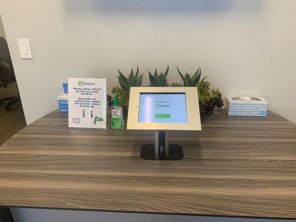 Self Check-In Desk