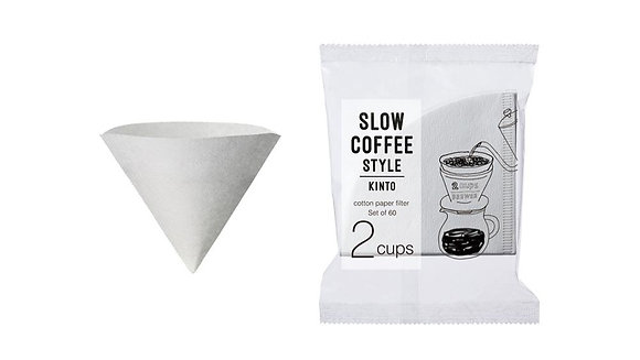 SCS-02-CP-60 Cotton Paper Filter 2cups