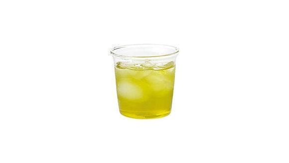 CAST green tea glass