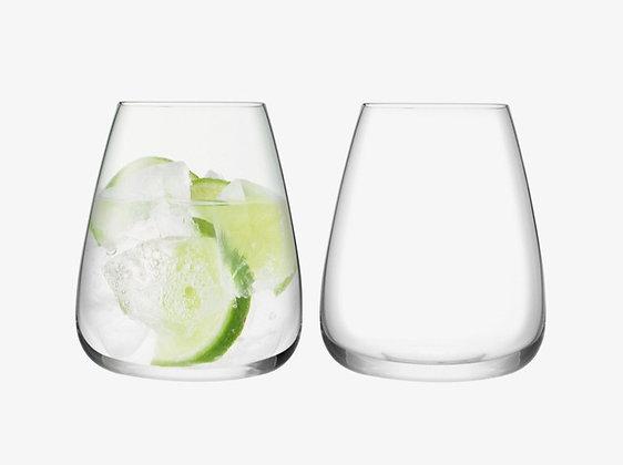 Wine Culture Water Glass Kit (2 pcs)