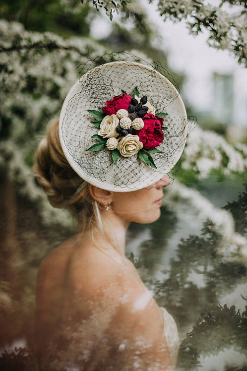 """Esmeralda"" sinnamay hat"