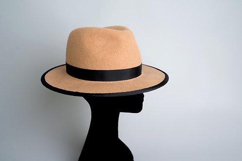 """Felt """"Desert"""" fedora hat"""