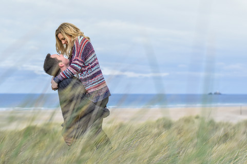 Couples shoot in St Ives