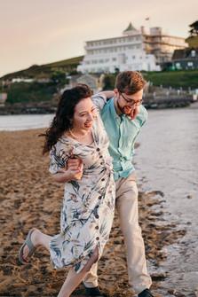 Bigbury Beach Couple Shoot-11.jpg