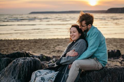 Bigbury Beach Couple Shoot-14.jpg
