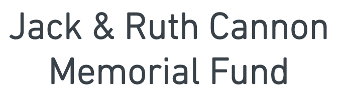 Jack & Ruth Cannon Memorial Fund