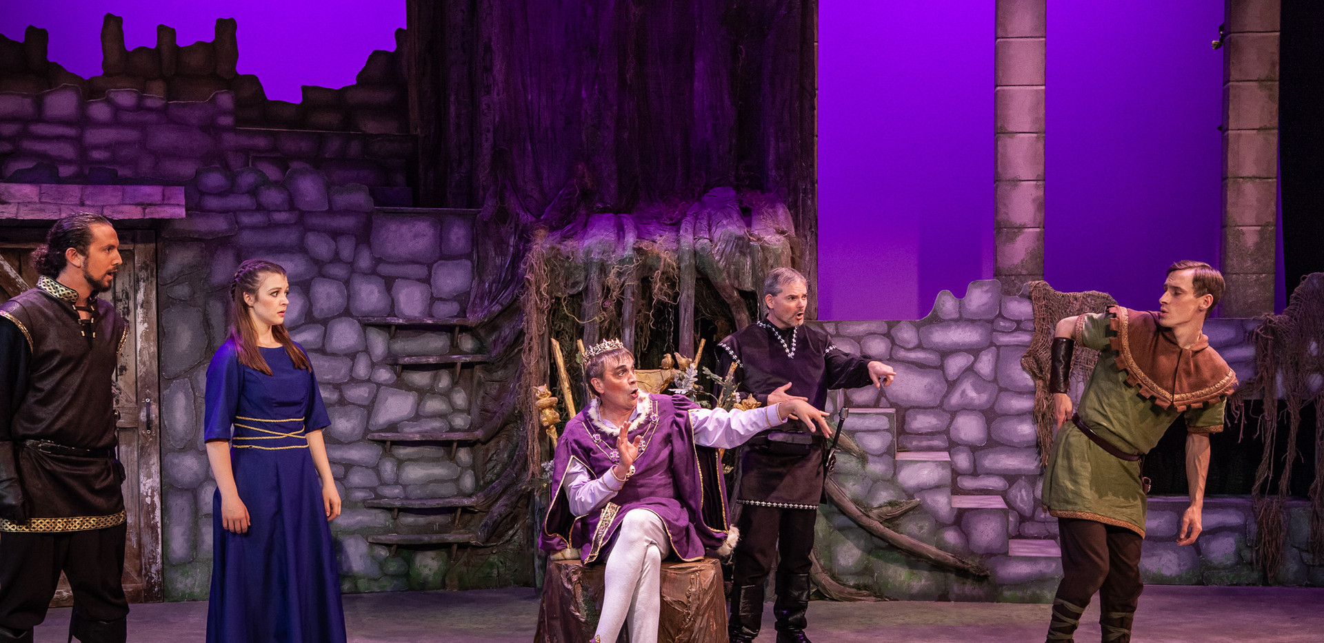 Sherwood Jeff Kingsbury as Prince John 2