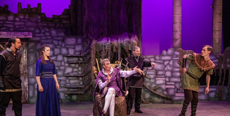 Sherwood Jeff Kingsbury as Prince John 2