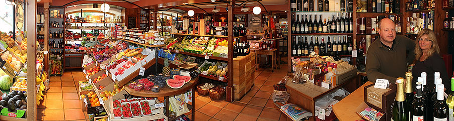 Panorama Heidi's Obstkorb in Prien am Chiemsee mit Obst, Gemüse, Feinkost und Wein
