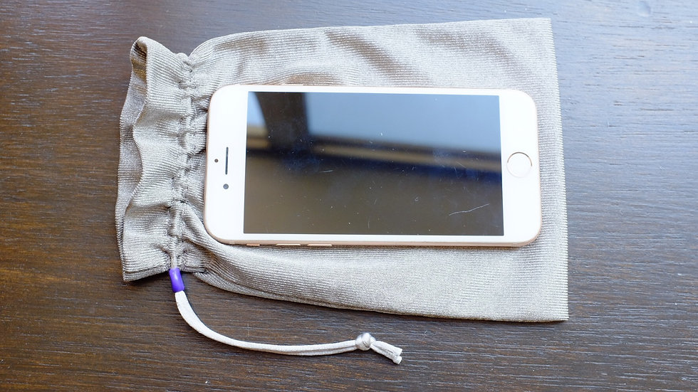 Silver Protector Tech Pouch - Pocket Sized