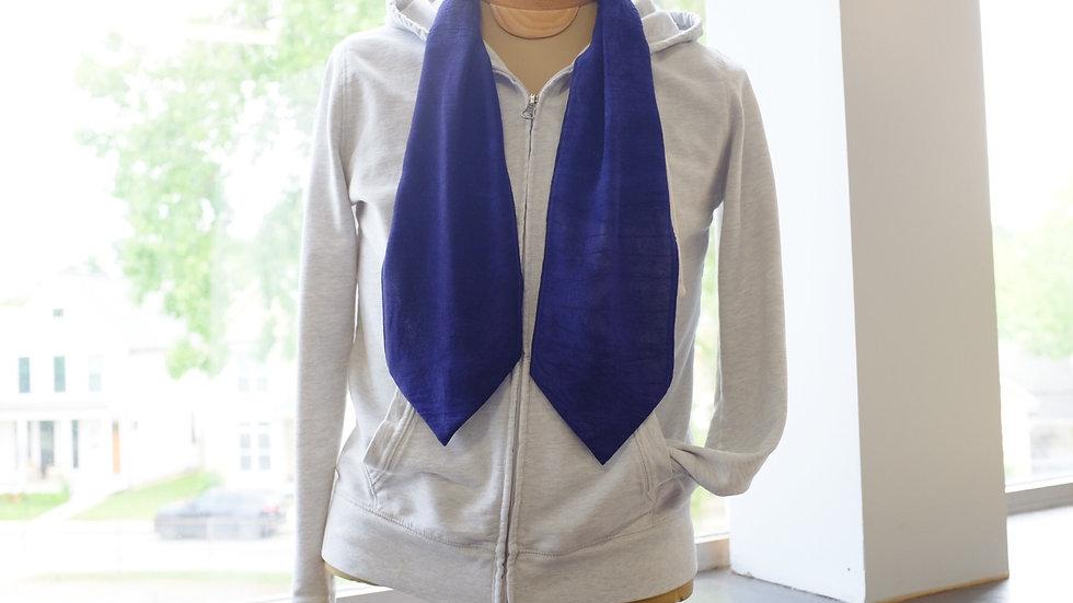Cravat Necktie - Azure Blue