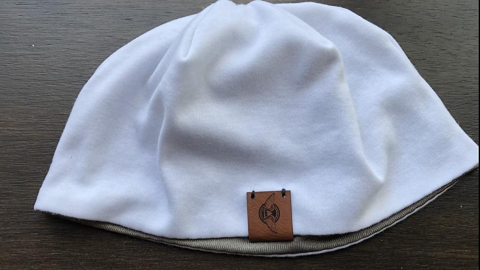 AES Hat Liner Beanie - White