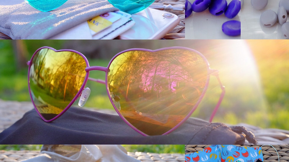 Mirror Heart Sunnies Wire Frame Heart Shape Sunglasses in Pink Enamel and mirror