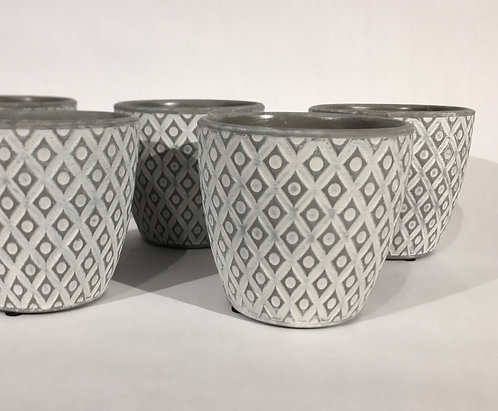 Small Decorative Ceramic Pots